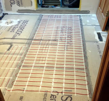In-Floor Heating Systems Wisconsin